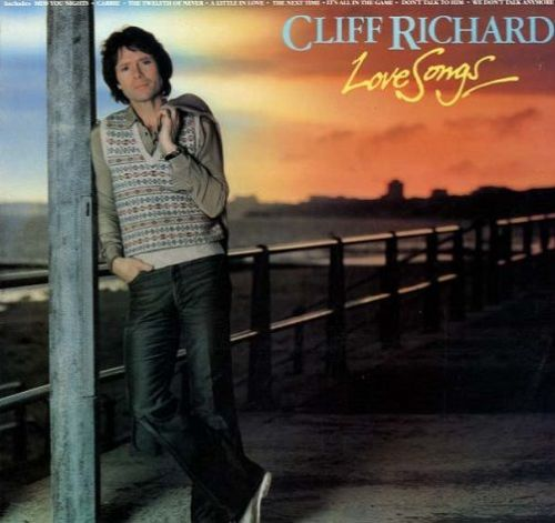 CLIFF RICHARD Love Songs Vinyl Record LP EMI 1981